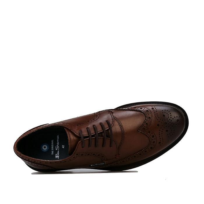 Men's Ben Sherman Patrick Brogue Shoe in Brown iNzJfT
