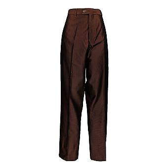 Stacy Adams Men's Corduroy Casual Polyester Pants Brown