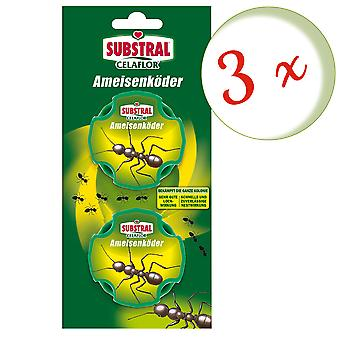 Sparset: 3 x SUBSTRAL® Celaflor® ant baits, 2 doses