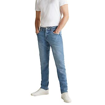 Esprit Men's Washed-Out Effect Stretch Τζιν Slim Fit Ανδρικο Μπλε