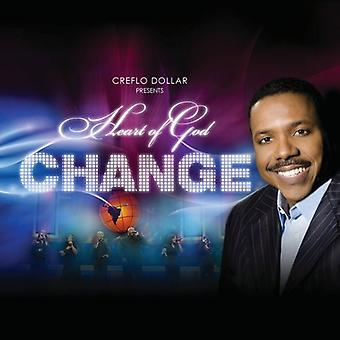 Dollar, Creflo Presents Heart of God - Change [CD] USA import