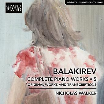 Complete Piano Works 5 [CD] USA import