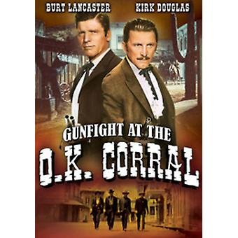 Gunfight at the Ok Corral [DVD] USA import