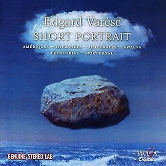 Maurice Abravanel - Varese: Short Portrait [CD] USA import
