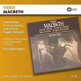 Verdi / Muti, Riccardo - Macbeth [CD] USA import