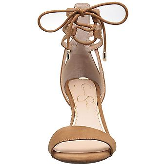Jessica Simpson Womens Maevi Open Toe Formal Ankle Strap Sandals
