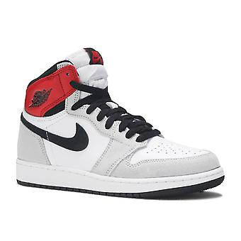 Jordan 1 Retro High Light Smoke Grey (Gs) - 575441-126 - Chaussures
