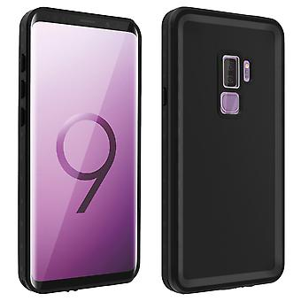 Protective Case Samsung Galaxy S9 Plus Waterproof 2m + Screen protector Black