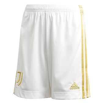adidas Juventus 2020/21 Dzieci Strona główna Serie A Piłka nożna Krótki Biały