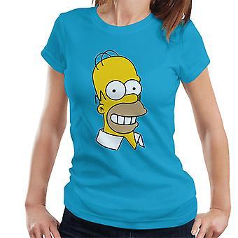 The Simpsons smile Homer T-shirt til kvinder