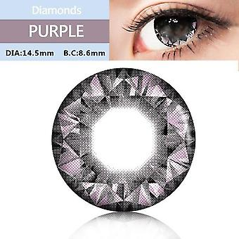 Color Lens For Eyes Colorful Cosmetic Con Large Diameter Diamonds Series