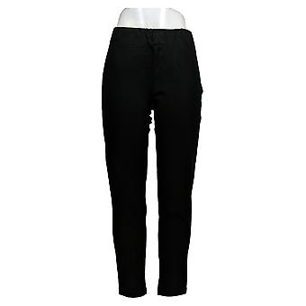 BROOKE SHIELDS Timeless Women's Pants Regular Ponte Ankle Black A306654