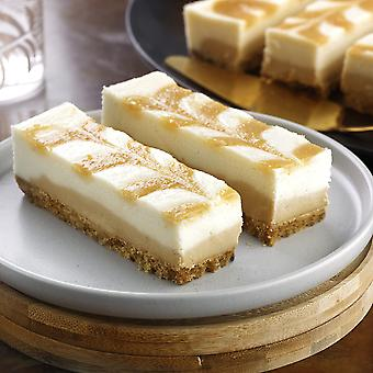 Mademoiselle Frozen Vegan Salted Caramel Cheesecake