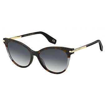 Sunglasses Women's Cat Eye Havana