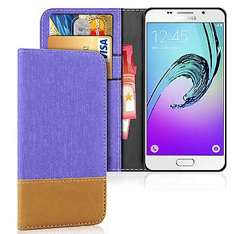 Mobile Case with Card Pocket for Samsung Galaxy A3 (2016) TPU Protection Phone Magnet