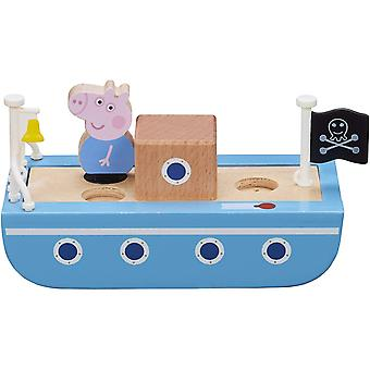 Peppa Pig - Wooden Toy Boat