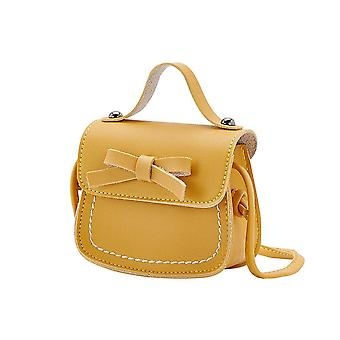 Pu Leather, Bowknot Design-messenger Laukut