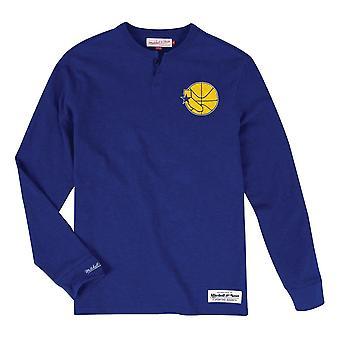 Mitchell & Ness NBA Golden State Warriors Primeira Rodada Escolha BA281HGSWBJZ1 basquete todo o ano t-shirt masculino