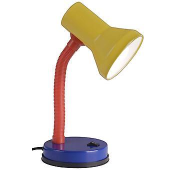 LYSANDE Lampa Junior Bordslampa Flerfärgad | 1x R80, E27, 40W, lämplig för reflektorlampor (medföljer ej) | Skala