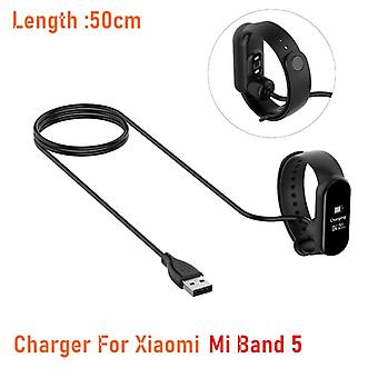 Charger Cable For Miband 5 Smart Wristband Bracelet  Charging Cable With Usb Charger Adapter Wire
