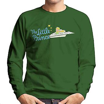 The Little Prince Paper Plane Men's Sweatshirt