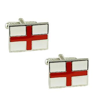 Ties Planeta Inglaterra Bandera Novelty Cufflinks