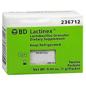 BD Bd Lactinex Complément alimentaire Granulespackets, 12 chacun