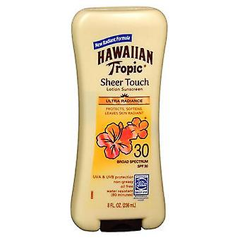 Hawaiian Tropic Sheer Touch Crème solaire Lotion Spf 30, 8 oz