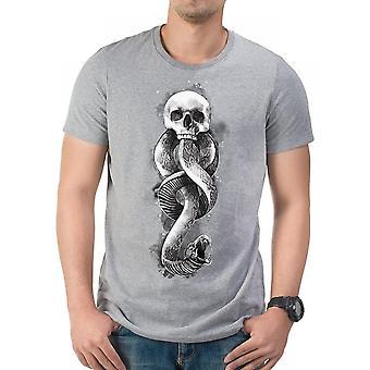 Harry Potter Unisex aikuiset tumma taide käärme Design T-paita