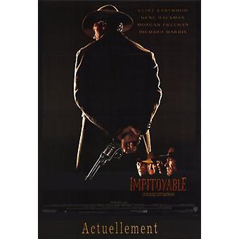 Plakat filmu Unforgiven (11 x 17)