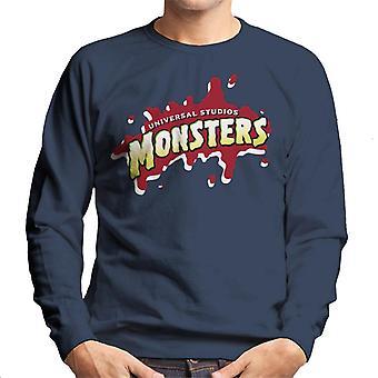 Universal Studios Monsters Blood Logo Men's Sweatshirt