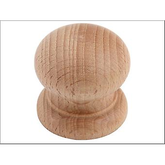 Basics Beech Door Knob 38mm 022462