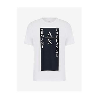 ARMANI EXCHANGE Coton Blanc T-shirt