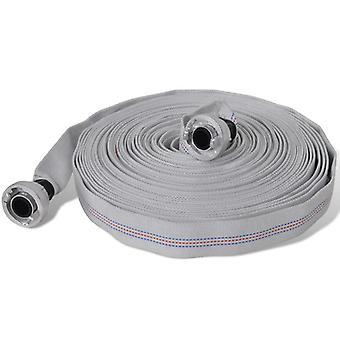 Fire hose flat hose 20 m D-Storz couplings 1 inch
