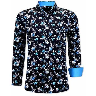Shirts Online - Blue Black