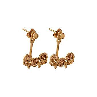 Olivia Burton Obj16lde01 Lace Detail Jacket Earrings Gold