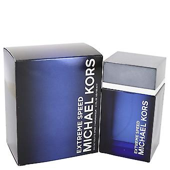 Michael Kors Extreme Speed Eau De Toilette Spray By Michael Kors 4.1 oz Eau De Toilette Spray