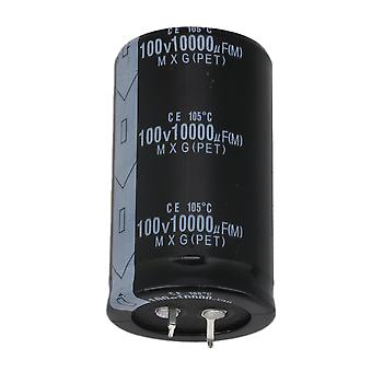 Snap In Type Electrolytic Capacitors Electronic Component 100V 10000UF