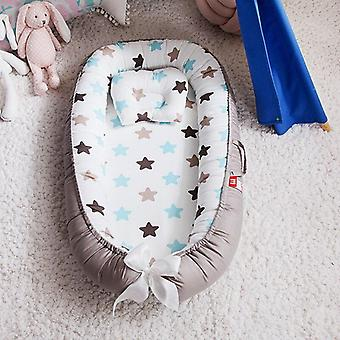 Baby Nest Bed With Pillow Cushion-portable Newborn Travel Bed For Outdoor/baby