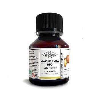Organic Macadamia vegetable oil 50 ml of oil