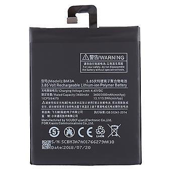 3400mAh リチウムポリマー電池 BM3A シャオミノート3用