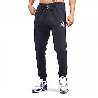 Kings Will Dream Crosby Navy Joggers Bottoms