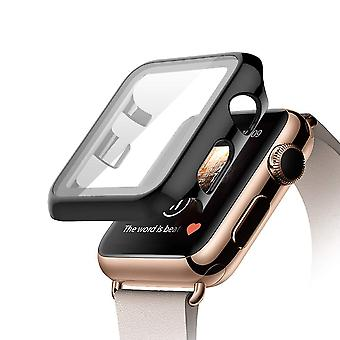 Glass+cover Apple Watch Case, Tempered Screen Protector Accessories