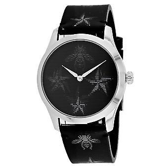 Gucci Men's G-Timeless Black Dial Watch - YA1264105
