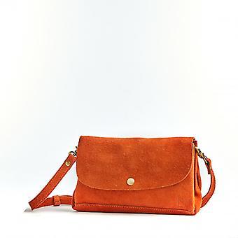 Le Fidèle - Pumpkin - Suede Leather