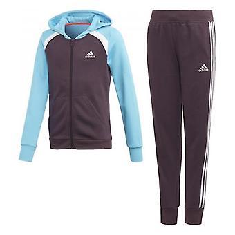 Children's Tracksuit Adidas G HOOD COT TS