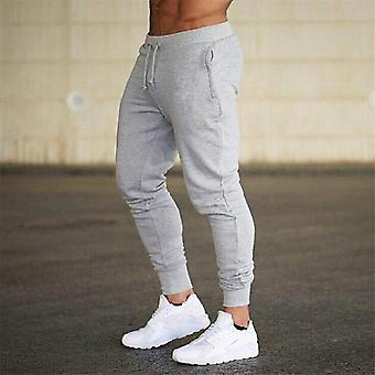 Mens Sweatpants, Autumn, Winter Man Gyms Fitness Bodybuilding Workout Trousers,