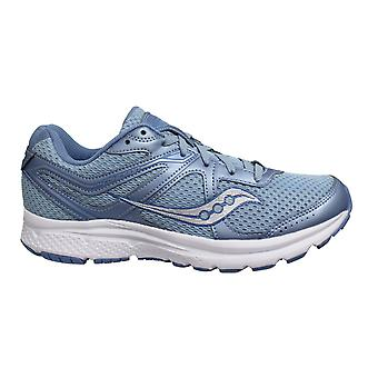 Saucony Grid Cohesion 11 Blue Low Lace Up Womens Running Trainers S10420 3