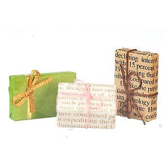 בובות בית בציר עטוף מתנות חג המולד מתנות חנות אביזר