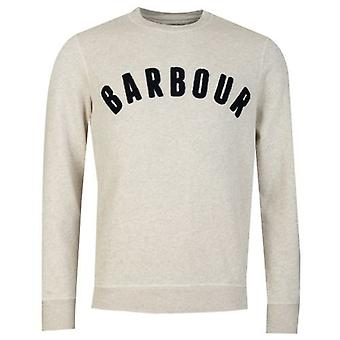 Barbour Prep Logo Crew Neck Sweat